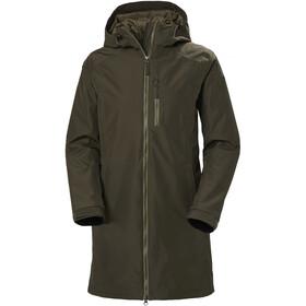 Helly Hansen Long Belfast Winter Jacket Women, oliwkowy
